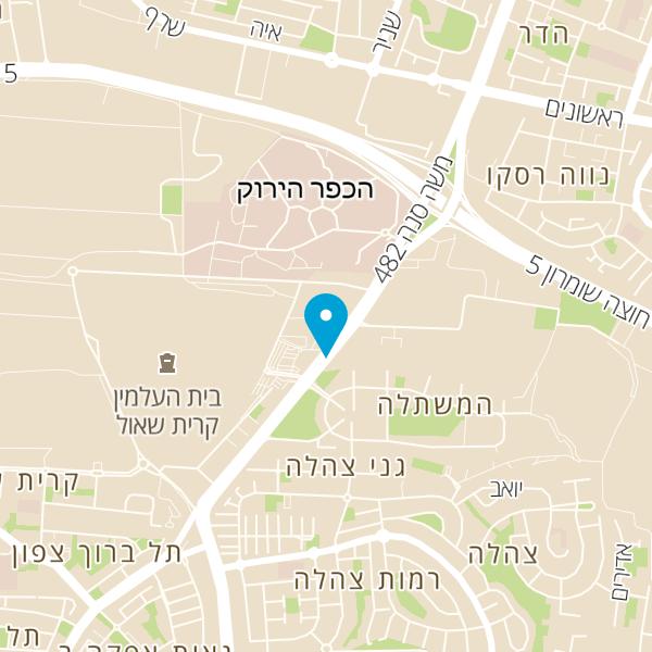 מפה של טיזרו אירועים