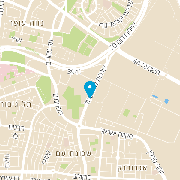 מפה של בורגר סאלון