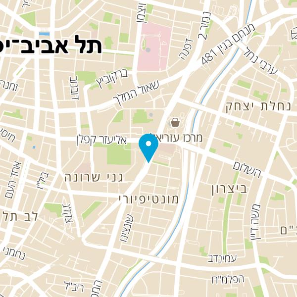 מפה של בר המנעולן